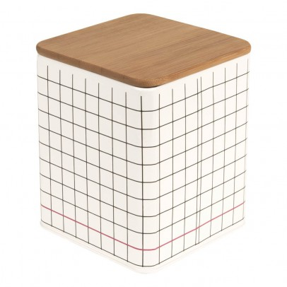 Present Time Grid Square Storage Boxes-product