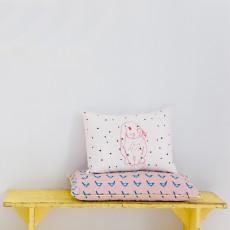 MIMI'lou 30x40cm Pink Rabbit Cushion-listing