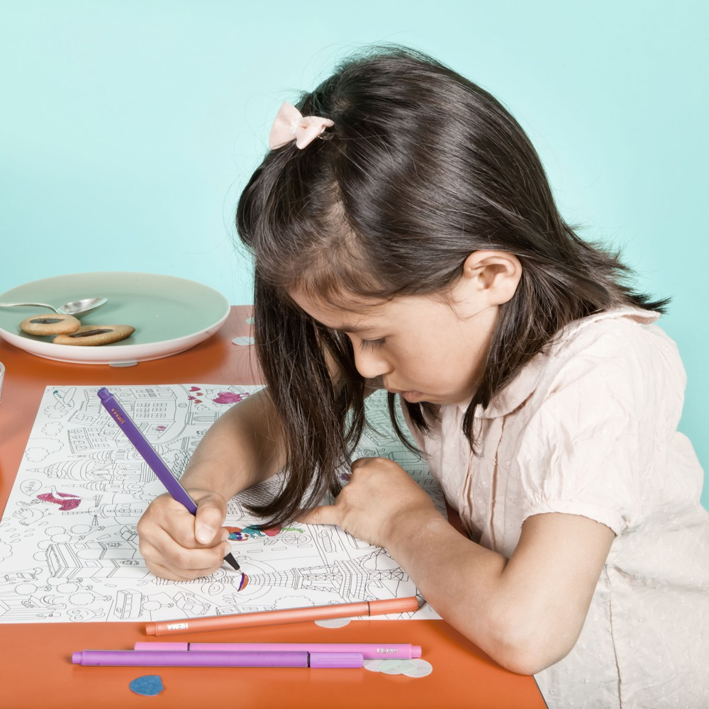 Omy Set de mesa para colorear Keith Haring-product