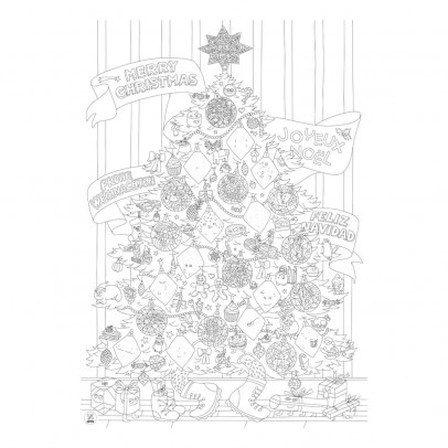 Omy Póster gigante Navidad-listing