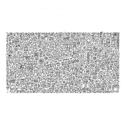 Omy Cartellone gigante da colorare Keith Haring-listing