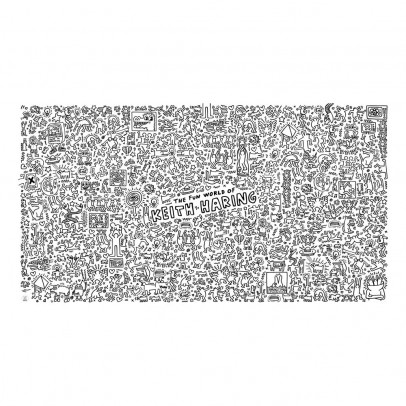 Omy Keith Haring Giant Colouring-in Poster-listing