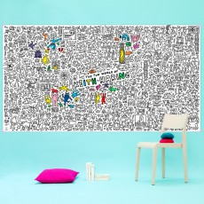 Omy Coloriage géant Keith Haring-product