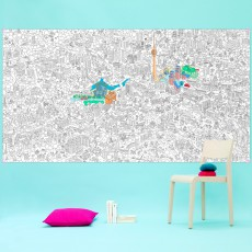 Omy Imagen gigante para colorear Berlin-listing