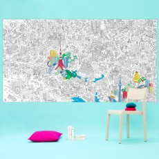 Omy Tokyo Giant Colouring-in Poster-listing