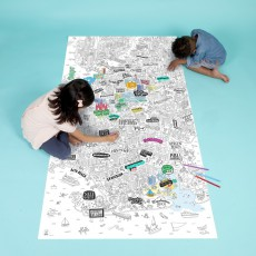 Omy Brooklyn Giant Colouring-in Poster-product
