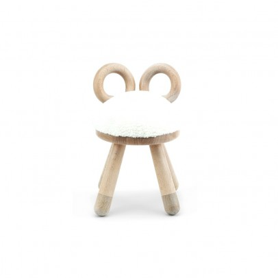 EO - Elements Optimal Sheep Chair in oak and beechwood by Takeshi Sawada-listing