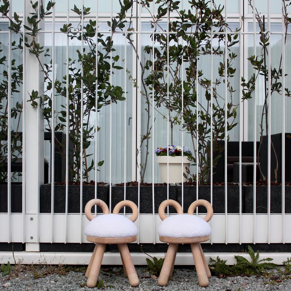 EO - Elements Optimal Chaise Mouton en chêne et hêtre par Takeshi Sawada-product