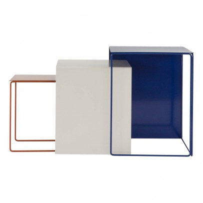 Ferm Living Tavolini impilabili - Set di 3-product