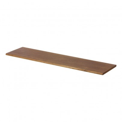 Ferm Living Smoked Oak Shelf - 24x85cm-product