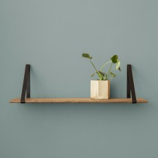 Ferm Living Smoked Oak Shelf - 24x85cm-product