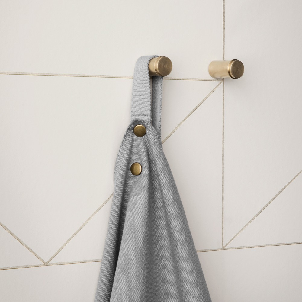 Ferm Living Brass Coat Hooks - Set of 2-product