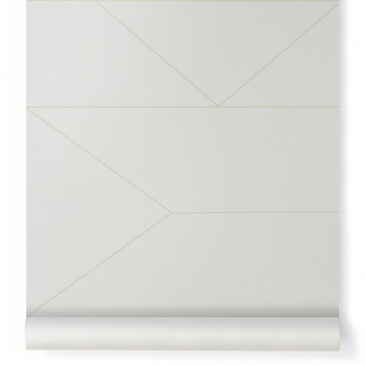 Ferm Living Papel pintadoLines-product