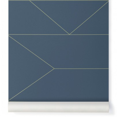 Ferm Living Lines Wallpaper-listing