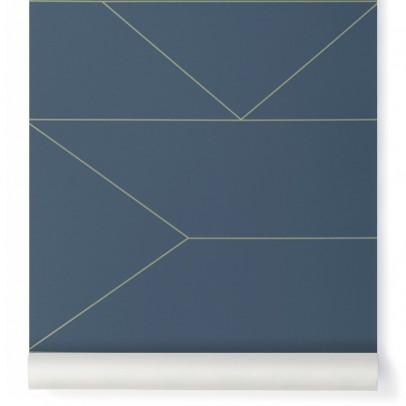 Ferm Living Papier peint Lines-listing
