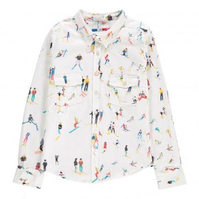 G.KERO Skiers Stars Pocket Shirt-listing