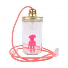 La tête dans le bocal Glas-Lampe Playmobil-listing