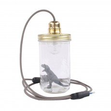 La tête dans le bocal Dinosaur jar desk lamp-listing