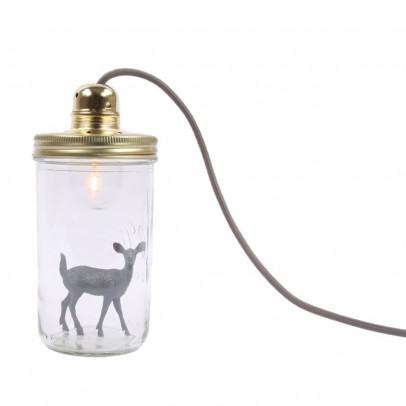 La tête dans le bocal Glas-Lampe Bambi-listing