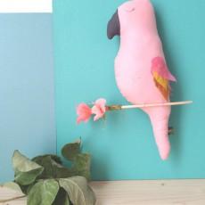 Scalaë Uccello decorativo da appendere Ernesto-listing