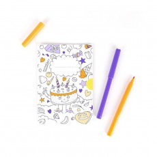 Omy Invitation cards by OMY to colour in - set of 8-product