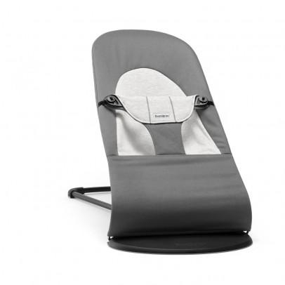 BabyBjörn Transat Balance Soft coton/jersey Gris foncé et gris-listing