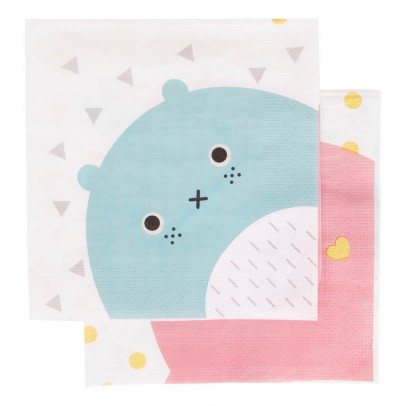 My Little Day Serviettes en papier Noodoll - Lot de 20-listing