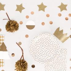 My Little Day Decoración de Navidad Dorada - Lote de 6-listing