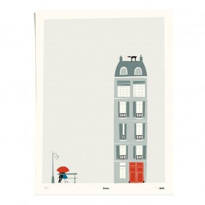 Pleased to meet Affiche Paris 30x40 cm édition limitée-listing