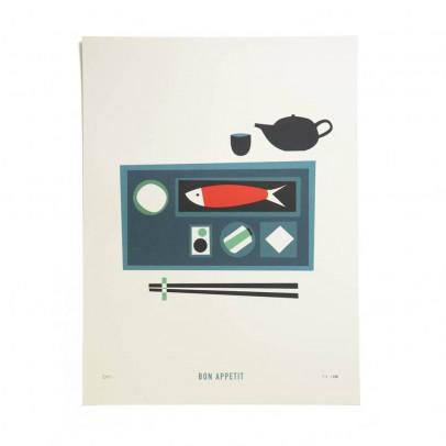 Pleased to meet Affiche Bon appétit 30x40 cm édition limitée-listing