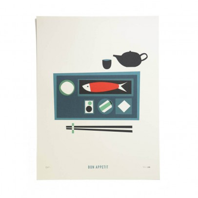 Pleased to meet Poster Guten Appetit 30x40 cm limitierte Auflage-listing