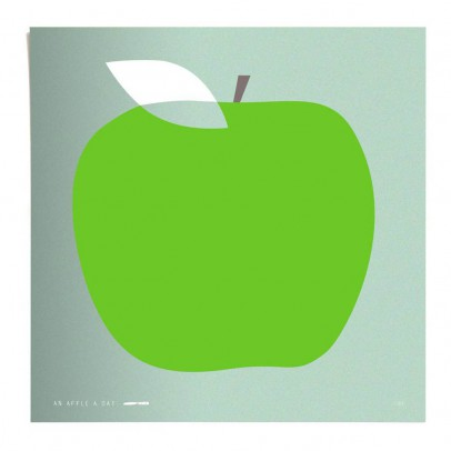 Pleased to meet Poster - Apple 50x50 cm Limited Edition-listing