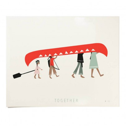 Pleased to meet Poster - Together 30x24 cm Limited Edition-listing