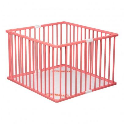 Combelle Parque plegable Lacado Botón rosa-listing