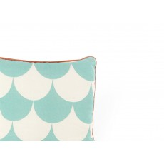 Nobodinoz Cotton Square Cushion - Patterned-listing