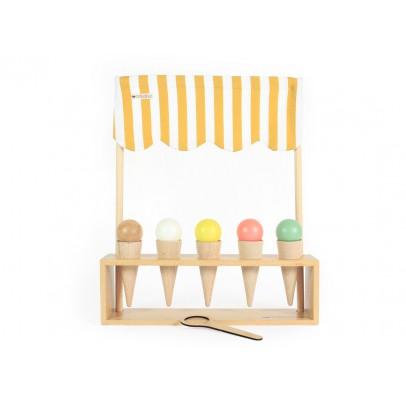 Nobodinoz Juego de heladero de madera-listing