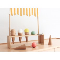 Nobodinoz Eisstand-Spiel aus Holz-listing