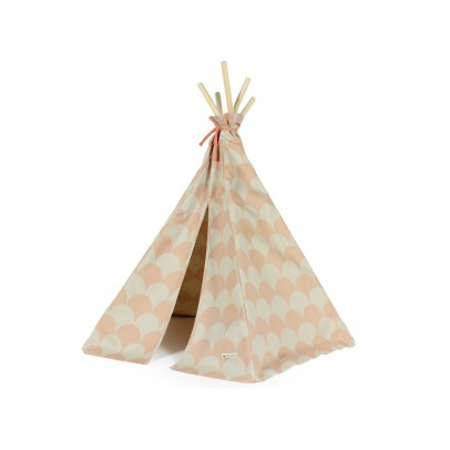 Nobodinoz Cotton Mini Teepee - Patterned-listing