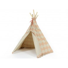Nobodinoz Tipi mini Arizona en coton écailles-listing
