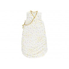 Nobodinoz Cotton Baby Sleeping Bag - Pink and Yellow Triangles-listing