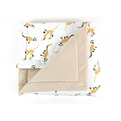 Nobodinoz Quilt - Little Monkeys-listing