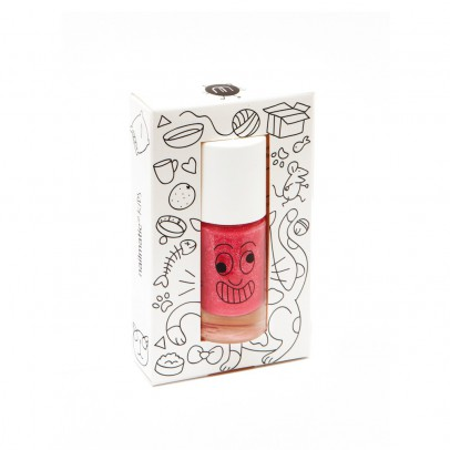 Nailmatic Kids Candy Pink Kitty Nail Varnish-listing