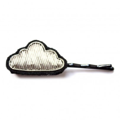 Macon & Lesquoy Cloud Embroidered Hair Clip-product