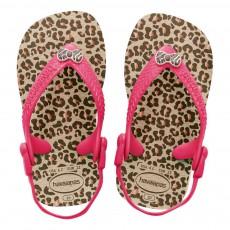 Havaianas Chic Leopard Baby Flip Flops-listing