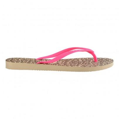 Havaianas Leopard Slim Flip Flops-listing