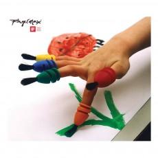 Fingermax Finger Paint Brushes - Set of 12-listing
