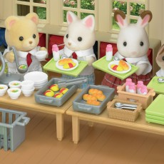 Sylvanian Set desayuno escolar-listing