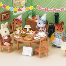 Sylvanian Surprise Party Set-listing