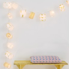 MIMI'lou Gold Light Garland-listing