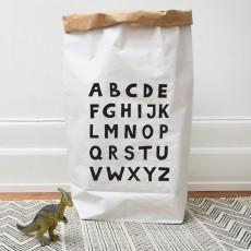 Tellkiddo Bolsa de almacenamiento  Alfabeto-listing